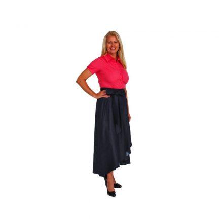 Bigy pink rövid ujjú vászon ing 46