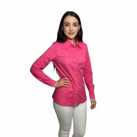 Bigy pink hosszú ujjú vászon ing