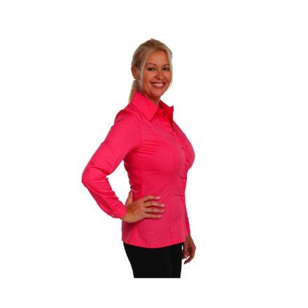 Bigy pink hosszú ujjú vászon ing 44