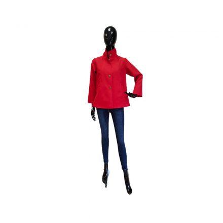 Bigy vékony piros kabát 40