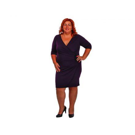 Bigy sötétlila ruha 38