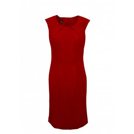 Bigy ujjatlan piros ruha 50