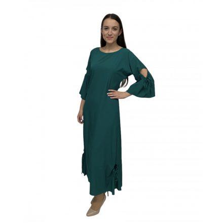 Bigy zöld rövid ujú hosszú ruha
