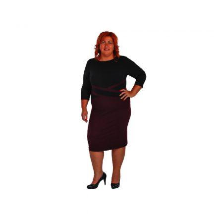 Bigy lila keresztes ruha 44