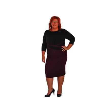 Bigy lila keresztes ruha 52