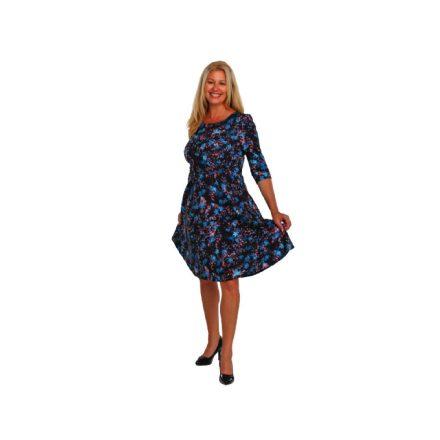 Bigy mintás ruha zsebbel 42