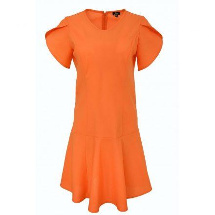 Bigy narancssárga rövid ujjú ruha