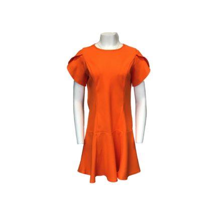 Narancssárga színű vászon ruha