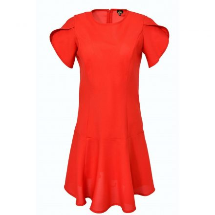 Bigy piros rövid ujjú ruha