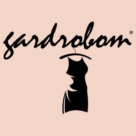 Cirádás fekete pamut ruha