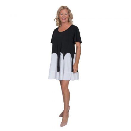 Bigy fekete fehér loknis ruha