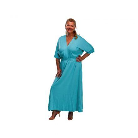 Bigy türkiz pamut ruha 58