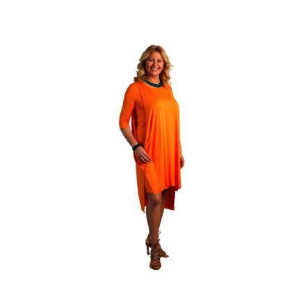 Bigy narancssárga pamut ruha