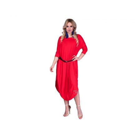 Taffi piros pamut ruha one size