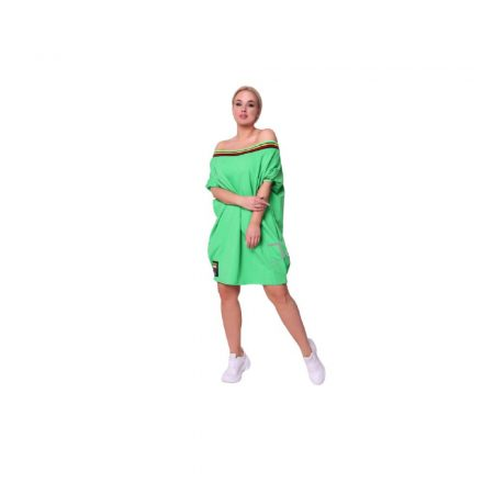 Taffi kiwi zöld színű vállkidobós tunika