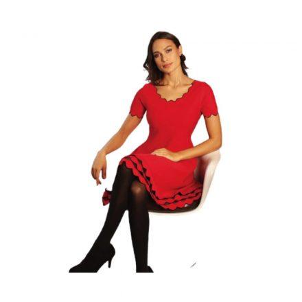 Michaela Louisa piros ruha 9126
