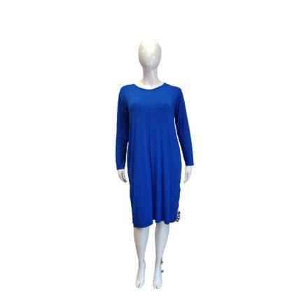 Kék hosszú pamut ruha
