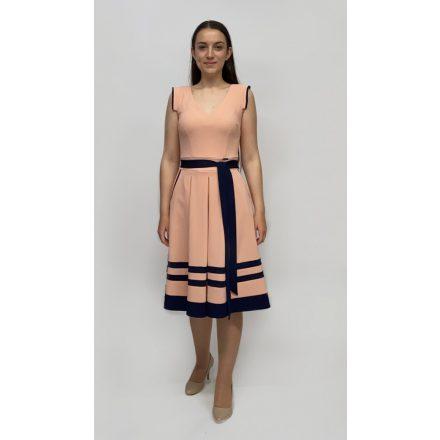 Mysticday púder loknis ruha kék szegéllyel