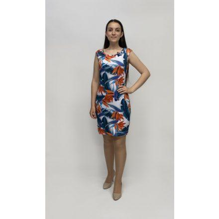 Lluisa virágmintás testhezálló ruha